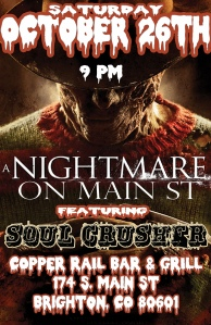 Nightmare on Main St OCT 26th
