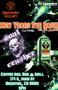 soul crushernew years eve
