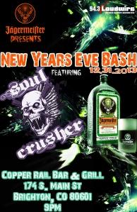 soul crushernew years eve